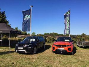 Autohaus Löbau Pferdeleistungsschau Range Rover Evoque 2016