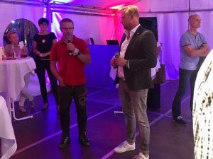 Autohaus Löbau Premiere Range Rover Velar Volvo XC60 Gespräch