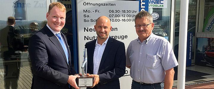 Hohe Auszeichnung für das Team der Autohaus Löbau GmbH