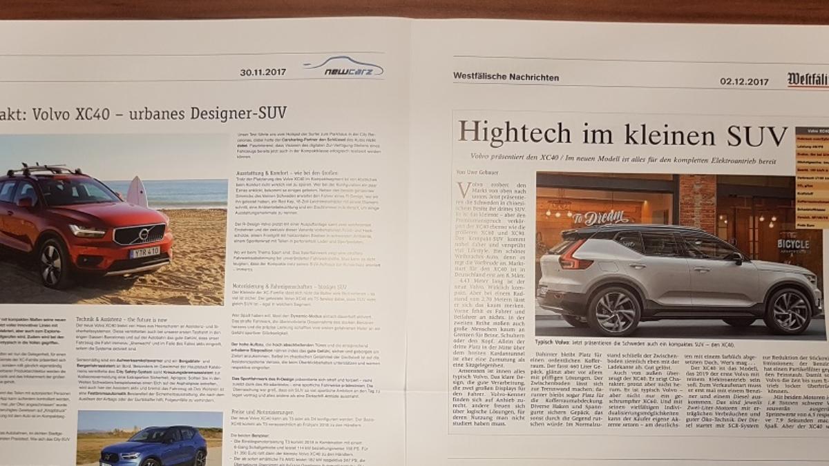 Autohaus Löbau Volvo XC40 NewCarz