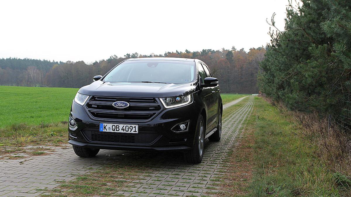 NewCarz Ford Edge Sport Fahrbericht