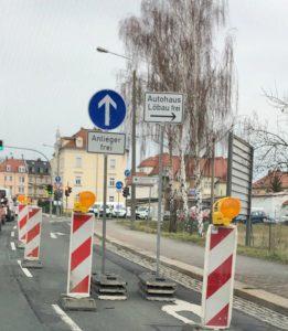 Autohaus Löbau Filiale Zittau Anfahrt über Goldbachstraße