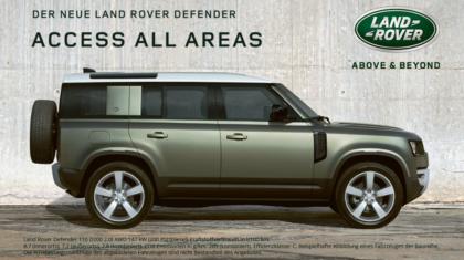 Autohaus Löbau Land Rover Defender Angebot 2020